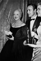Бет Дейвис, Марлон Брандо и Грейс Кели, 1955