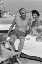 Хеди Ламар и У. Хауърд Лий, 1955