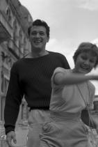 Рок Хъдсън и Новела Парини, 1954