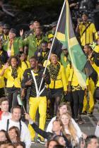 2012: Отборът на Ямайка Оказва се, че дизайнер на тоалетите на Ямайка за церемонията по откриването на Игрите е дъщерята на Боб Марли - Седела Марли. Тоалетът на всеки спортит е различен от този на колегата му и това по всякакъв начин отразява духа на Ямайка.