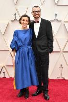 Дария Касчеева със съпруга си