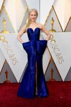 """Никол Кидман в Armani Prive по време на церемонията по връчването на наградите """"Оскар"""""""