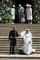 Меган Маркъл в сватбената си рокля Givenchy