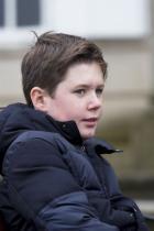 Принц Кристиан 12-годишният хлапак Кристиан Валдемар Хенри Джон, принц на Дания, граф на Монпезе, е първороден син на принц Фредерик и принцеса Мери на Дания. Внук на кралица Маргрете II, действащ монарх на Дания. Втори по линия за наследяване на трона след баща си.