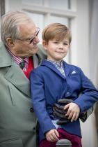 Принц Винсънт Третото дете на кралското семейство на Дания. 6-годишното момченце е трети по линия за наследство на трона след сестра си принцеса Изабела.