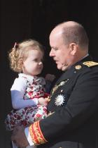 Принцеса Габриела Близначката на принц Жак и технически първородното дете на кралската двойка принц Албер и принцеса Шарлен.