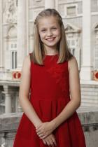 Принцеса Леонор 12-годишната красавица е наследница на испанския трон и е най-голямото дете на крал Фелипе VI и кралица Летисия.