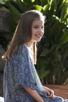 Принцеса София Втората дъщеря на крал Фелипе VI и кралица Летисия. 10-годишното момиче за сега ще наследи трона след сестра си принцеса Леонор.