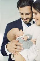 Принц Габриел Второто дете на принц Карл Филип и принцеса София е най-младият член на шведското кралско семейство и проплака през август тази година.