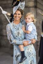 Принц Николас Второто дете на принцеса Маделин и Кристофър ОНийл. 2-годишното момченце със златни коси е девети по линията за наследство на трона.