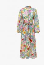 Gucci  Flower Printed Silk Dress w/ Belt 4897лв