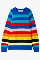 Chistopher John Rogers Striped Wool-Blend Sweater 1355лв