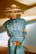 Карол Ландис / снимка: Серж Белкин за Vogue / 1945 г.