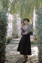 Елизабет Тейлър / снимка: Луис Лемус за Vogue / Октомври 1948 г.
