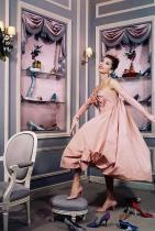 Victoire Doutreleau за Dior / снимка: Сабина Вайс / 1958 г.