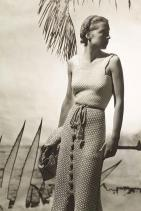 Marie-Claude Vogel за Hermes / снимка: Horst P. Horst за Vogue / July / 1934 г.
