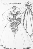 Сватбената рокля се прави от дантела Роклята на Катрин бе дело на Сара Бъртън за Alexander McQueen, а тази на Даяна - дело на Елизабет Еманюел. Кой дизайнер ли ще избере Меган?