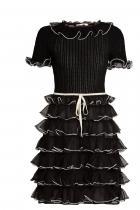 Плетена рокля с къдри от коприна Gucci 5096 лв.