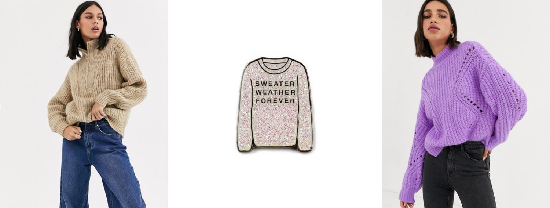 500 мига от любовта или 100 пуловера за есента. Start Shopping NOW!